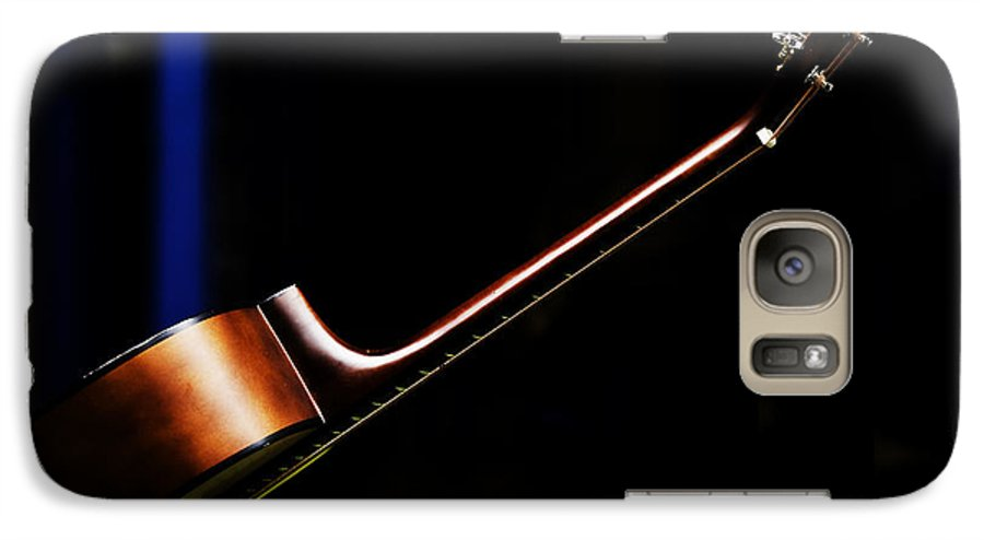 Guitar Galaxy S7 Case featuring the photograph Guitar by Sheila Smart Fine Art Photography