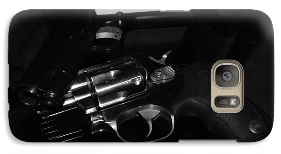 Guns Galaxy S7 Case featuring the photograph Guns And More Guns by Rob Hans