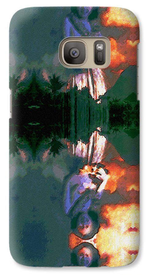 Rainbow Colors Digital Galaxy S7 Case featuring the photograph Haili Moe by Kenneth Grzesik
