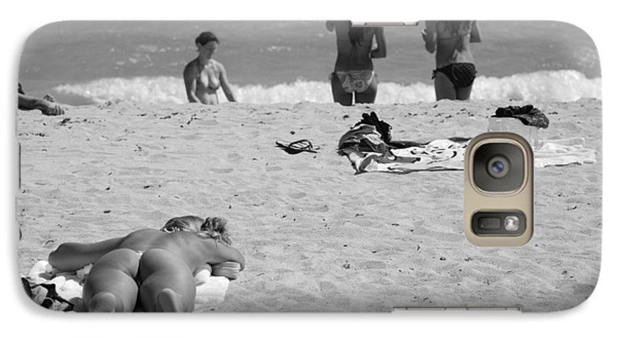 Miami Galaxy S7 Case featuring the photograph Half Dead Half Alive by Rob Hans