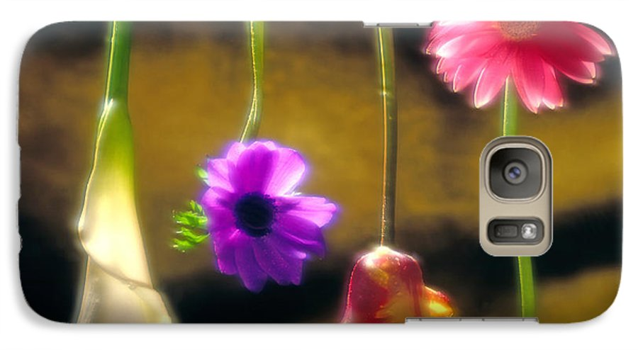 Tulip Galaxy S7 Case featuring the photograph Hanging Flowers by Tony Cordoza