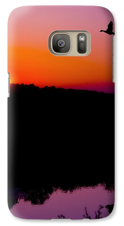 Sunset Galaxy S7 Case featuring the photograph Heading Home by Kenneth Krolikowski