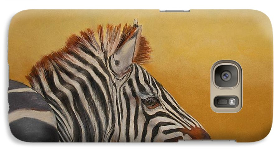 Africa Galaxy S7 Case featuring the painting Hello Africa by Ceci Watson