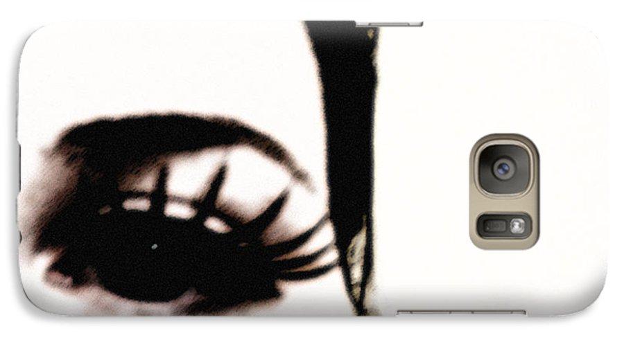 Eye Galaxy S7 Case featuring the photograph Hello by Amanda Barcon