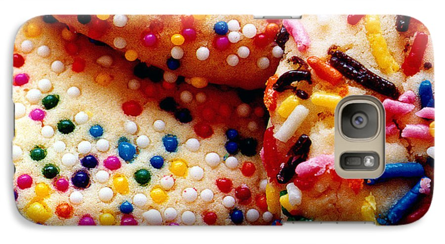 Cookie Galaxy S7 Case featuring the photograph Holiday Cookies by Nancy Mueller