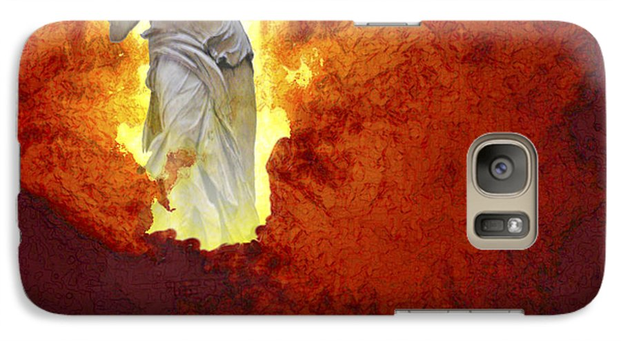 Painting Galaxy S7 Case featuring the painting Hope by Ann Tracy