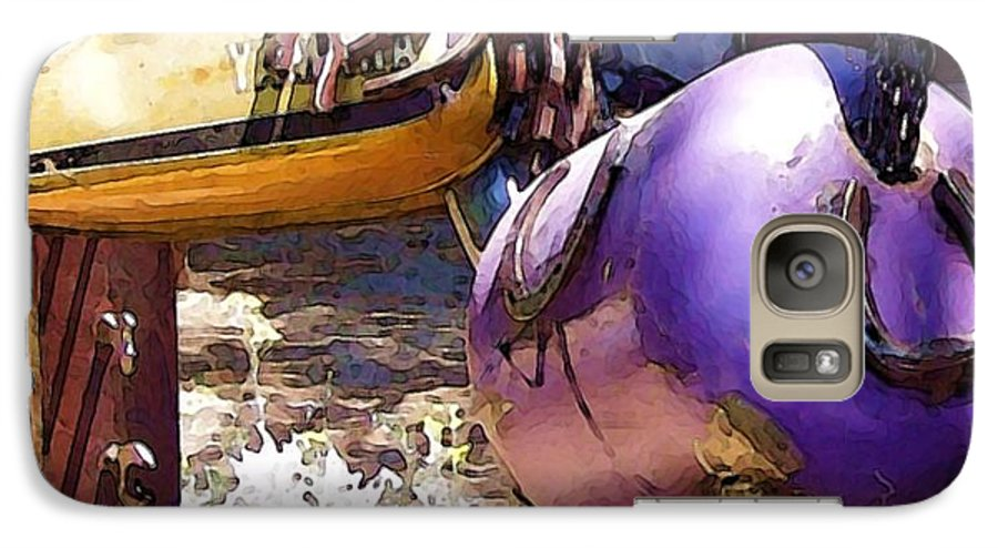 Sculpture Galaxy S7 Case featuring the photograph Horse With No Name by Debbi Granruth