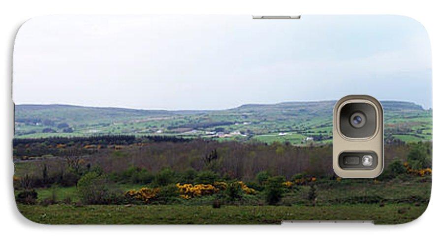 Ireland Galaxy S7 Case featuring the photograph Horses At Lough Arrow County Sligo Ireland by Teresa Mucha