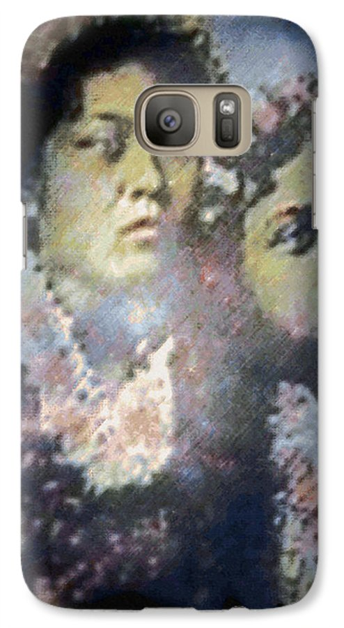 Tropical Interior Design Galaxy S7 Case featuring the photograph Hula Kaika Ma Hine by Kenneth Grzesik
