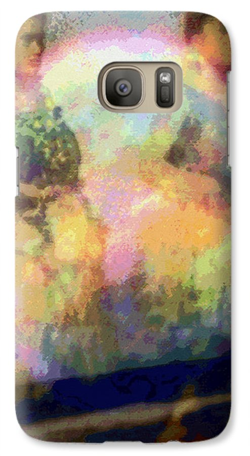 Tropical Interior Design Galaxy S7 Case featuring the photograph Hula Waiona by Kenneth Grzesik