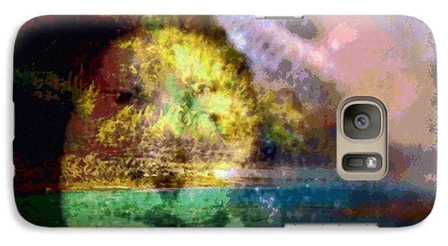 Tropical Interior Design Galaxy S7 Case featuring the photograph I Ini O Ka Naau by Kenneth Grzesik