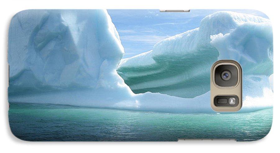Photograph Iceberg Ocean Summer Newfoundland Galaxy S7 Case featuring the photograph Iceberg by Seon-Jeong Kim