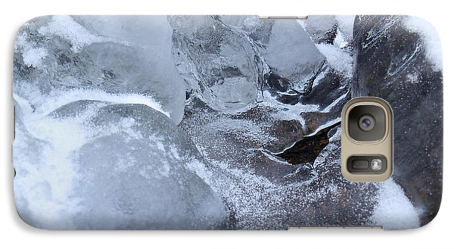 Snow Galaxy S7 Case featuring the photograph Icy Creek Forms In Pocono Mountains by Anna Lisa Yoder