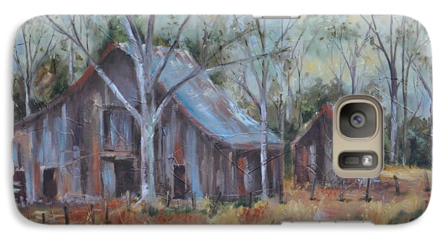 Barns Galaxy S7 Case featuring the painting If They Could Speak by Ginger Concepcion