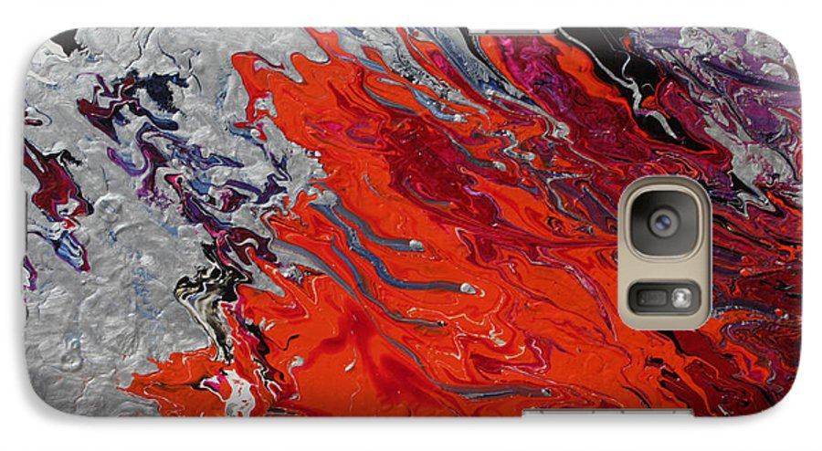Fusionart Galaxy S7 Case featuring the painting Ignition by Ralph White