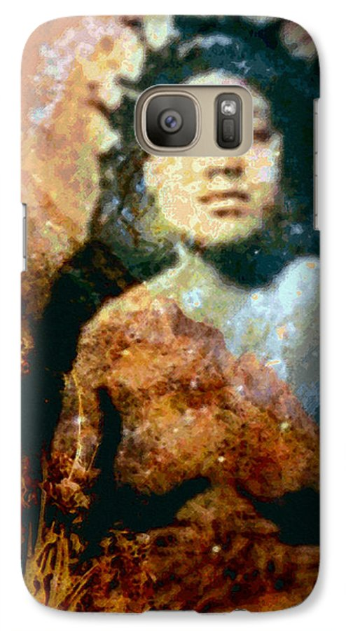 Tropical Interior Design Galaxy S7 Case featuring the photograph Ike Papalua by Kenneth Grzesik