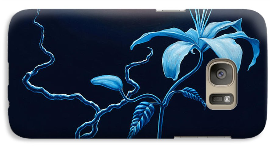 Lily Flower Galaxy S7 Case featuring the painting In Memorial by Jennifer McDuffie