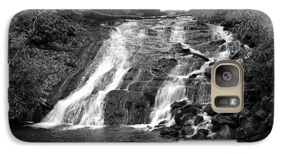 Nature Galaxy S7 Case featuring the photograph Indian Falls At Deep Creek by Kathy Schumann