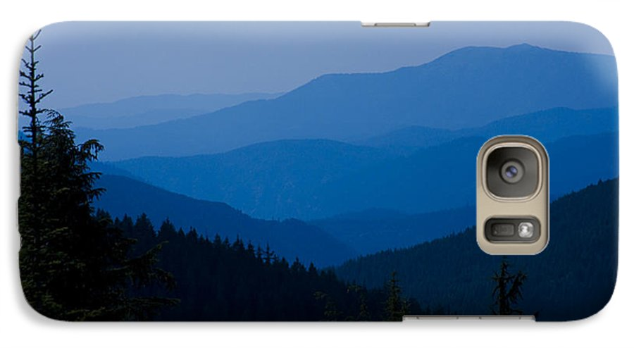 Mountain Galaxy S7 Case featuring the photograph Infinity by Idaho Scenic Images Linda Lantzy