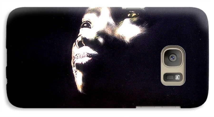 Galaxy S7 Case featuring the mixed media Inspired by Chester Elmore