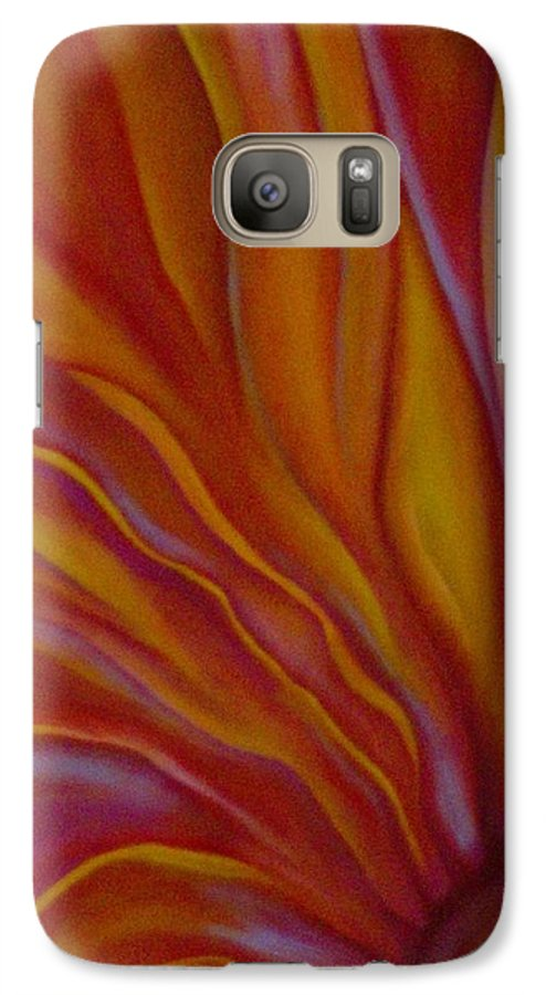 Floral Galaxy S7 Case featuring the painting Internal Floral by Sidra Myers