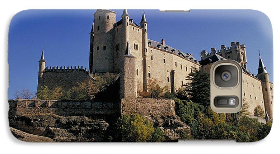 Royal Galaxy S7 Case featuring the photograph Isabella's Castle In Segovia by Carl Purcell