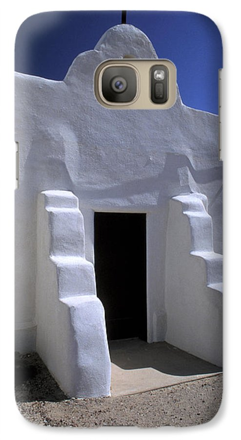 Adobe Galaxy S7 Case featuring the photograph Isleta by Jerry McElroy