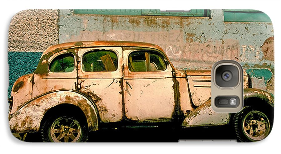 Skip Galaxy S7 Case featuring the photograph Jalopy by Skip Hunt