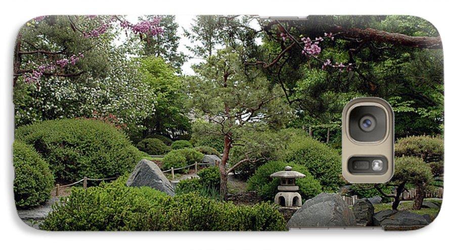 Japanese Garden Galaxy S7 Case featuring the photograph Japanese Garden IIi by Kathy Schumann