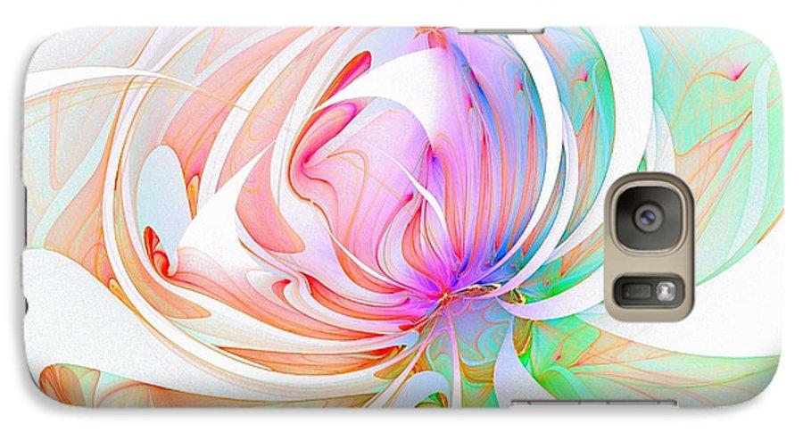 Digital Art Galaxy S7 Case featuring the digital art Joy by Amanda Moore