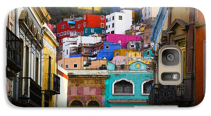 Architecture Galaxy S7 Case featuring the photograph Juegos In Guanajuato by Skip Hunt