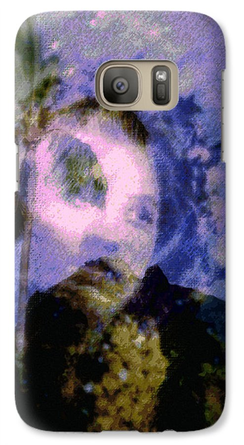 Tropical Interior Design Galaxy S7 Case featuring the photograph Kaei Manehu Uila by Kenneth Grzesik