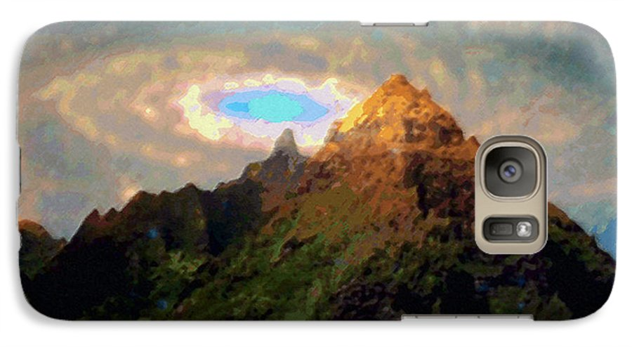 Tropical Interior Design Galaxy S7 Case featuring the photograph Kalakupua by Kenneth Grzesik