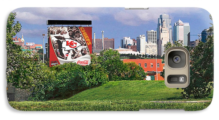 Landscape Galaxy S7 Case featuring the photograph Kansas City Sky Line by Steve Karol