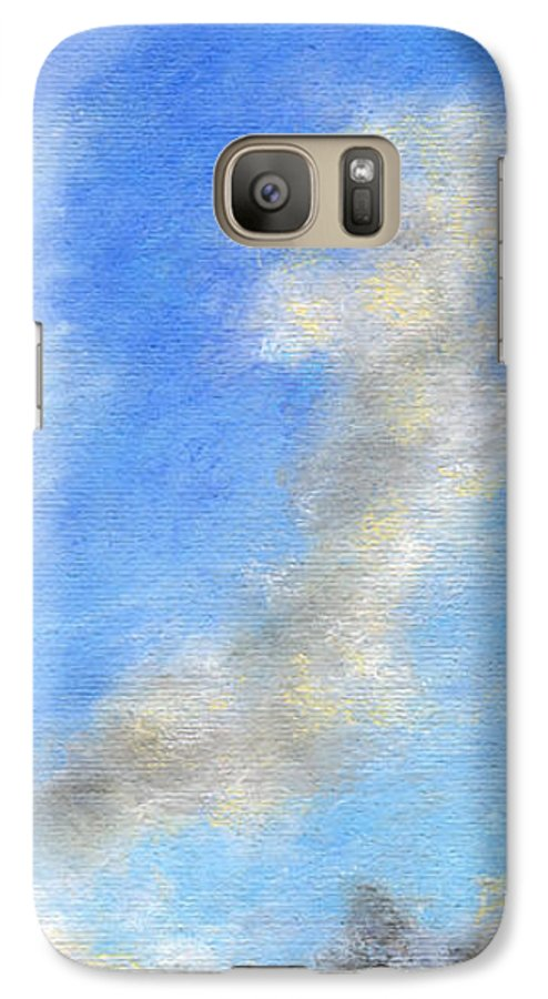Coastal Decor Galaxy S7 Case featuring the painting Kauapea Evening by Kenneth Grzesik