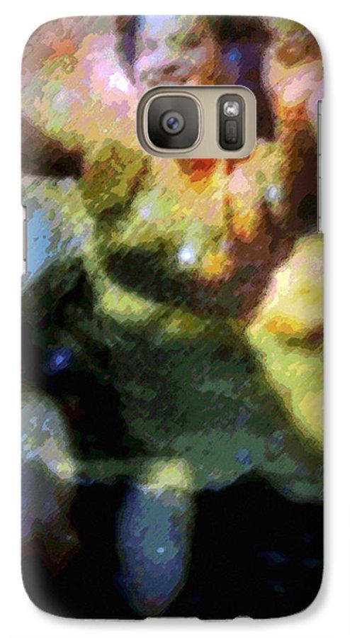 Tropical Interior Design Galaxy S7 Case featuring the photograph Ke'e Hula Uhane by Kenneth Grzesik