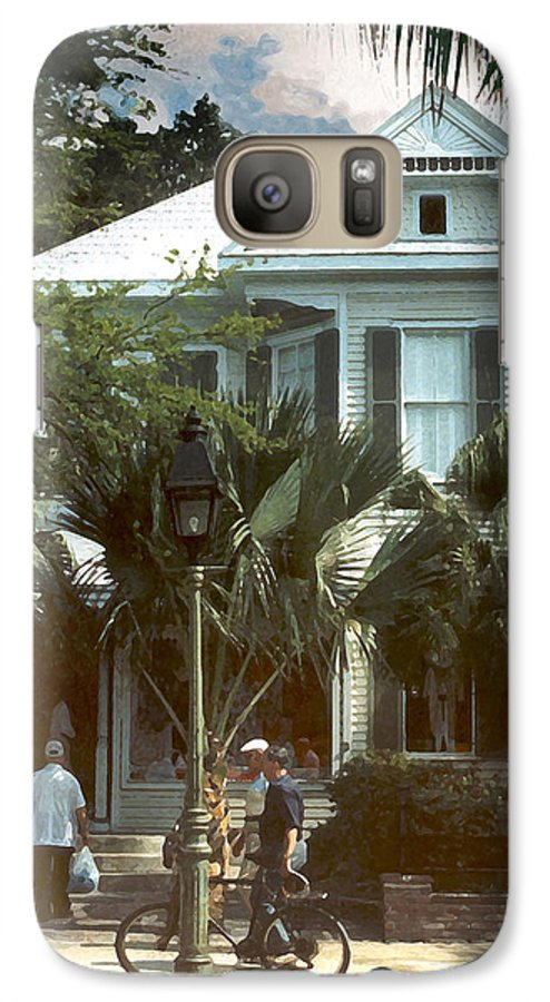 Historic Galaxy S7 Case featuring the photograph Keywest by Steve Karol