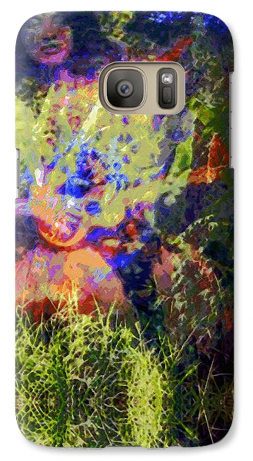 Rainbow Colors Digital Galaxy S7 Case featuring the photograph Kihapai O Ekena by Kenneth Grzesik