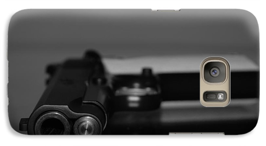 45 Auto Galaxy S7 Case featuring the photograph Kimber 45 by Rob Hans