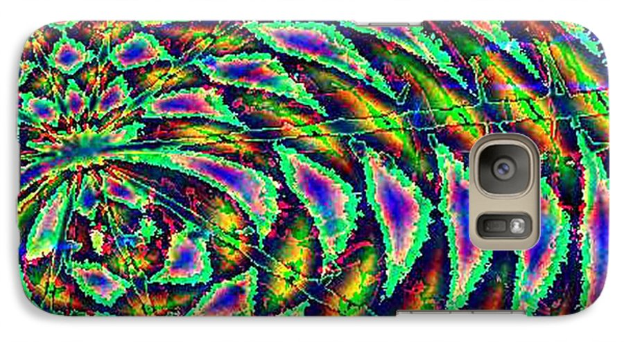Computer Art Galaxy S7 Case featuring the digital art Kiwi by Dave Martsolf