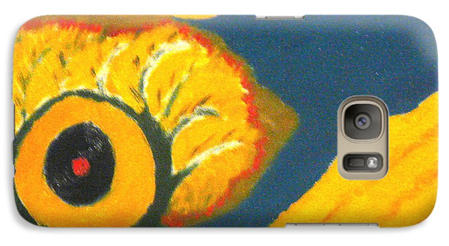 Galaxy S7 Case featuring the painting Krshna by R B