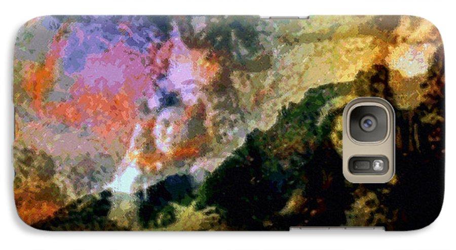 Rainbow Colors Digital Galaxy S7 Case featuring the photograph Kupua Hula by Kenneth Grzesik