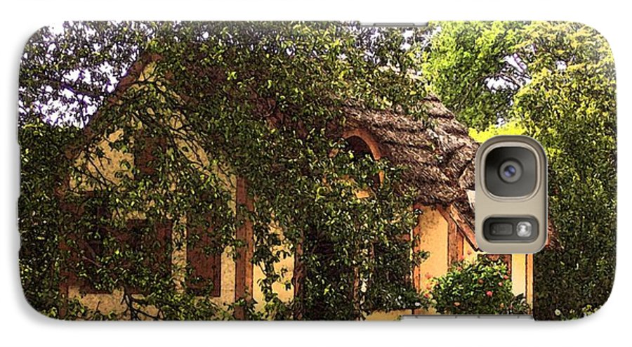 Cottage Galaxy S7 Case featuring the photograph La Maison by Debbi Granruth