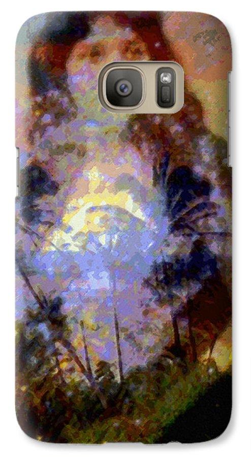 Rainbow Colors Digital Galaxy S7 Case featuring the photograph Laka Hula Akua by Kenneth Grzesik