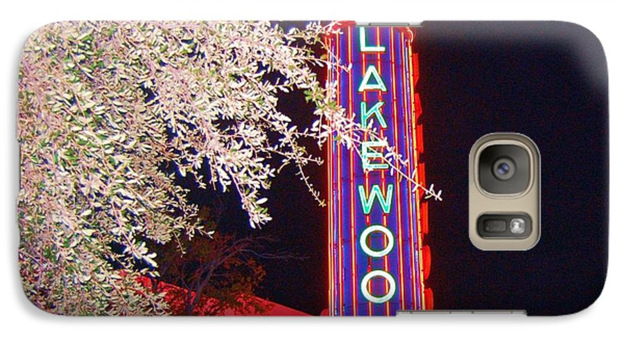Theater Galaxy S7 Case featuring the photograph Lakewood Theater by Debbi Granruth