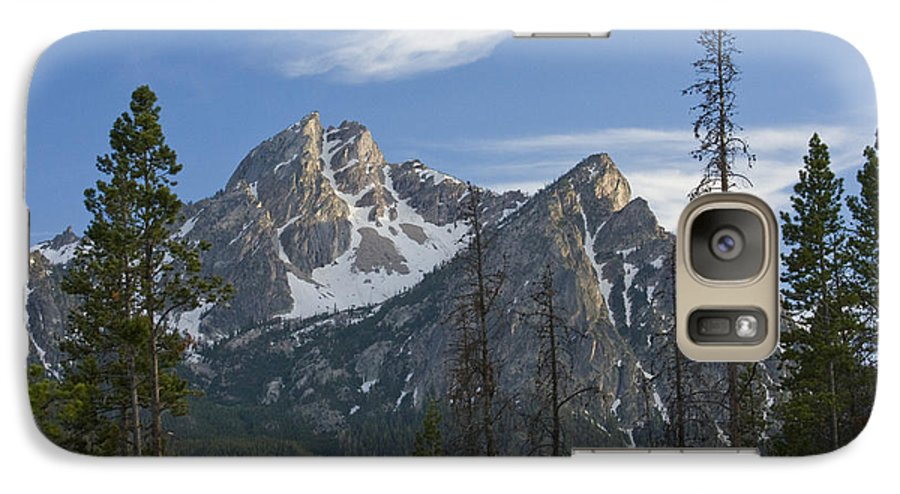 Majestic Galaxy S7 Case featuring the photograph Last Light On Mcgowan by Idaho Scenic Images Linda Lantzy