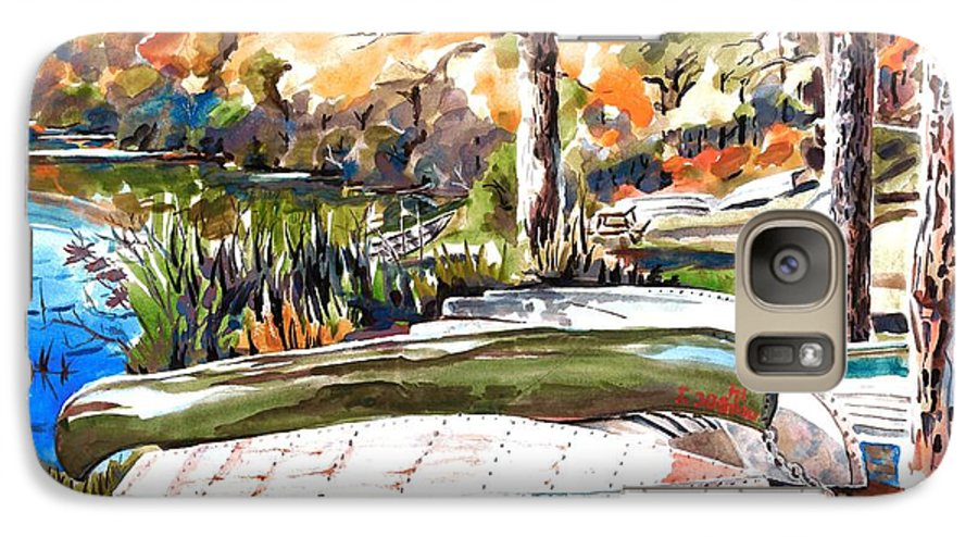 Last Summer In Brigadoon Galaxy S7 Case featuring the painting Last Summer In Brigadoon by Kip DeVore