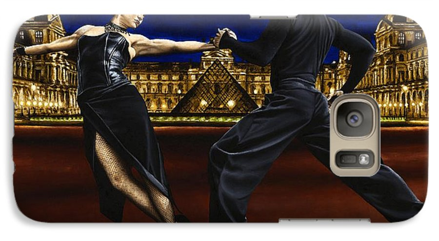 Tango Galaxy S7 Case featuring the painting Last Tango In Paris by Richard Young