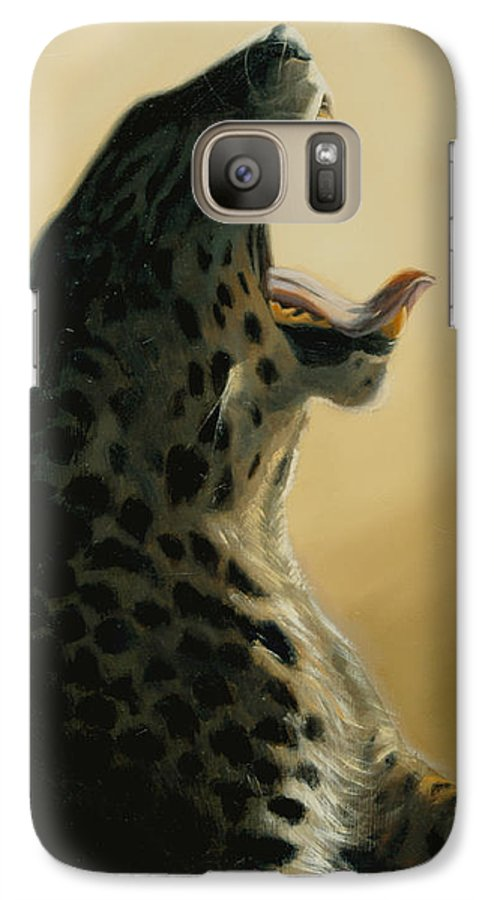 Painting Galaxy S7 Case featuring the painting Lazy Days by Greg Neal