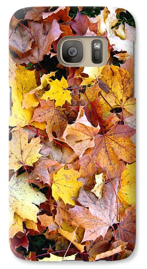 Leaves Galaxy S7 Case featuring the photograph Leaves Of Fall by Rhonda Barrett